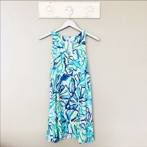 Lilly Pulitzer Achelle Dress Pool Blue Stay Cool